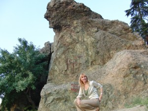 Victoria and the Niobe Rock